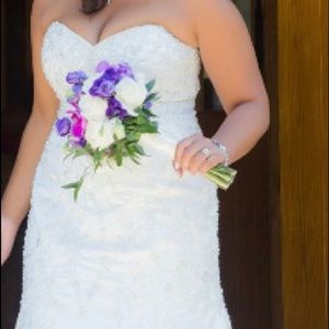 Mori Lee Size 14 wedding dress